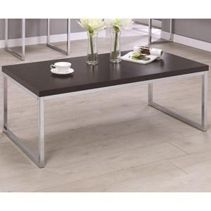 Contemporary Rectangular Coffee Table