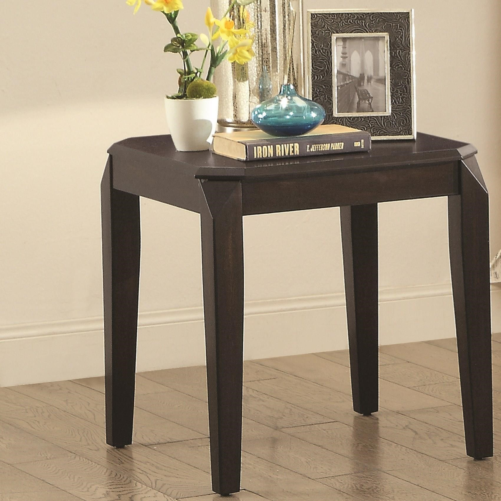 72104 End Table by Coaster at Standard Furniture