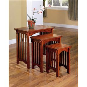Coaster 901049 3 Piece Nesting Table Set