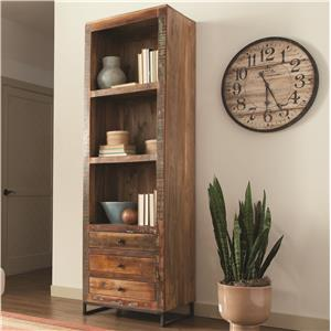 Tall Open Bookcase