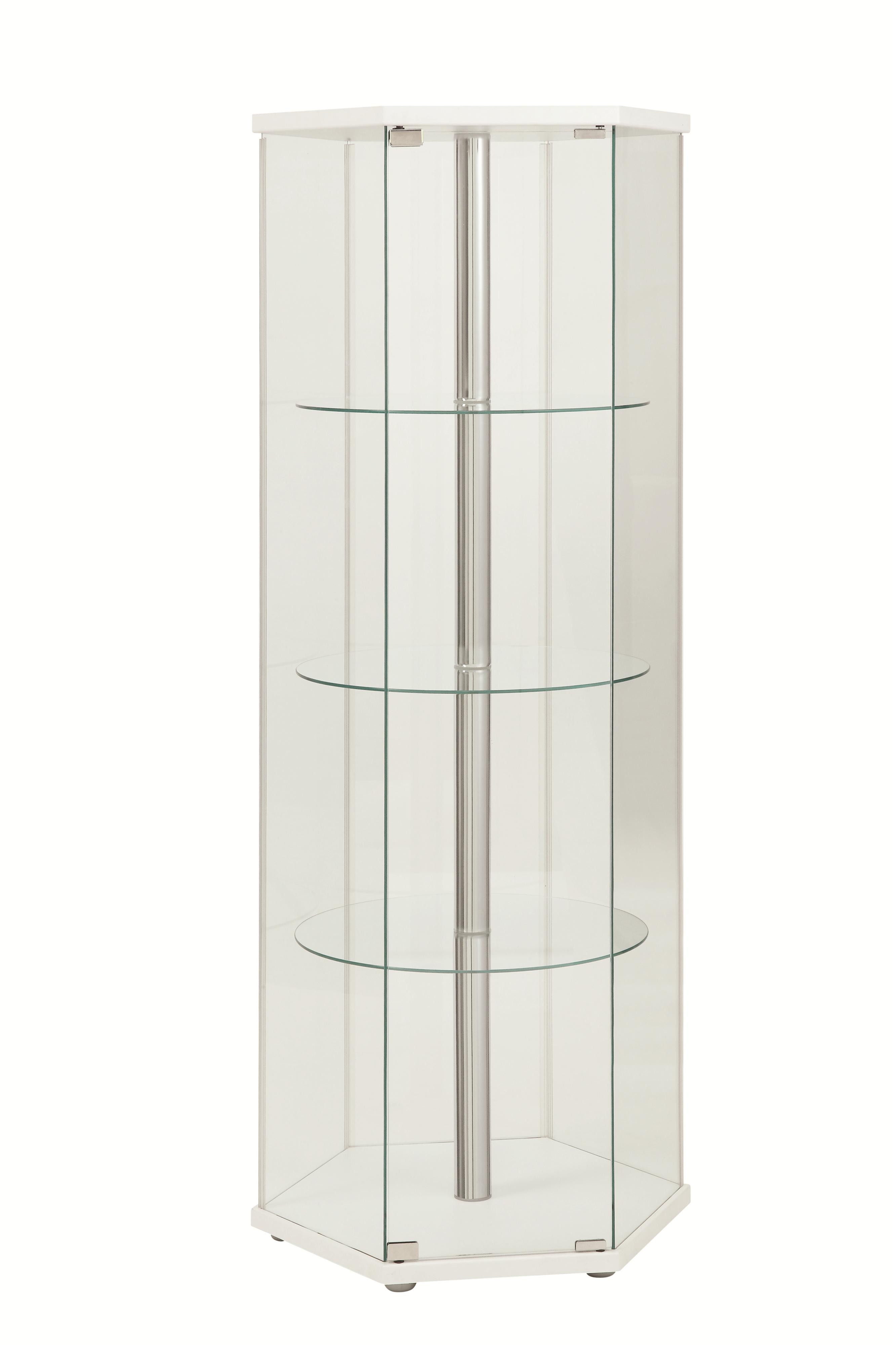 Accent Cabinets Curio Cabinet by Coaster at Furniture Superstore - Rochester, MN