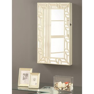 Coaster Accent Mirrors Jewelry Armoire