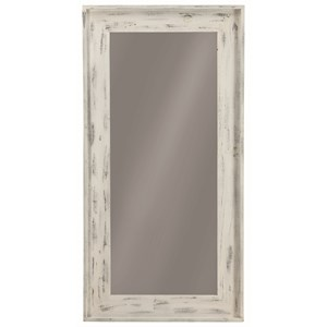 Distressed Frame Accent Mirror