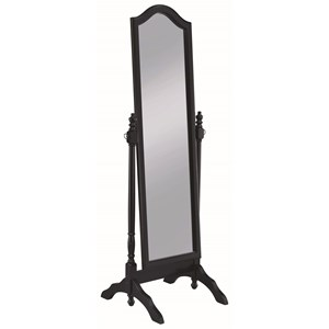 Cheval Mirror with Arched Top