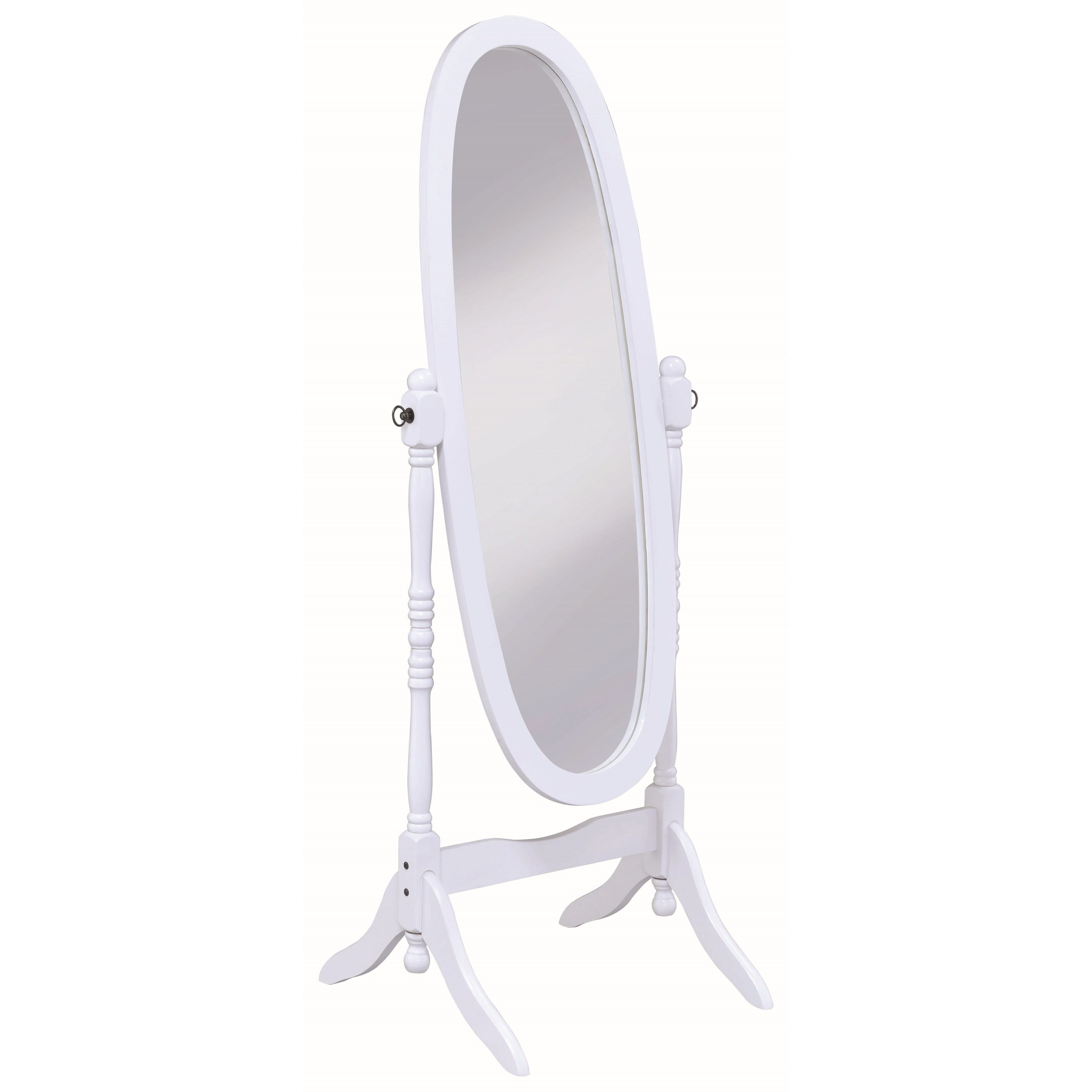 Accent Mirrors Cheval Mirror by Coaster at Lapeer Furniture & Mattress Center