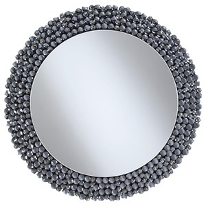 Round Contemporary Wall Mirror