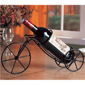 Black Bicycle Wine Rack
