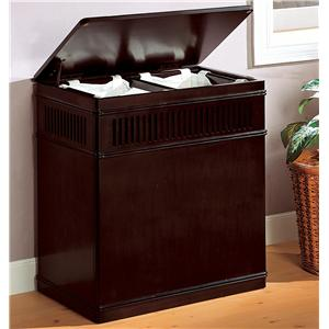 Coaster Accent Racks Laundry Hamper