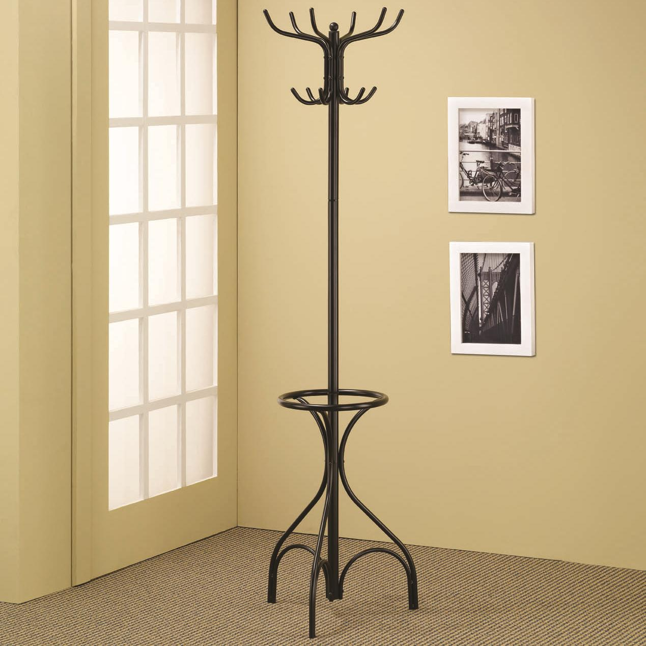 Accent Racks Black Coat Rack by Coaster at Carolina Direct