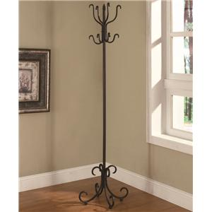 Coaster Accent Racks Metal Coat Rack