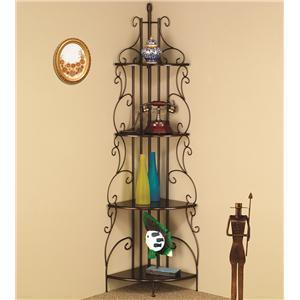 Coaster Accent Racks Copper Corner Rack