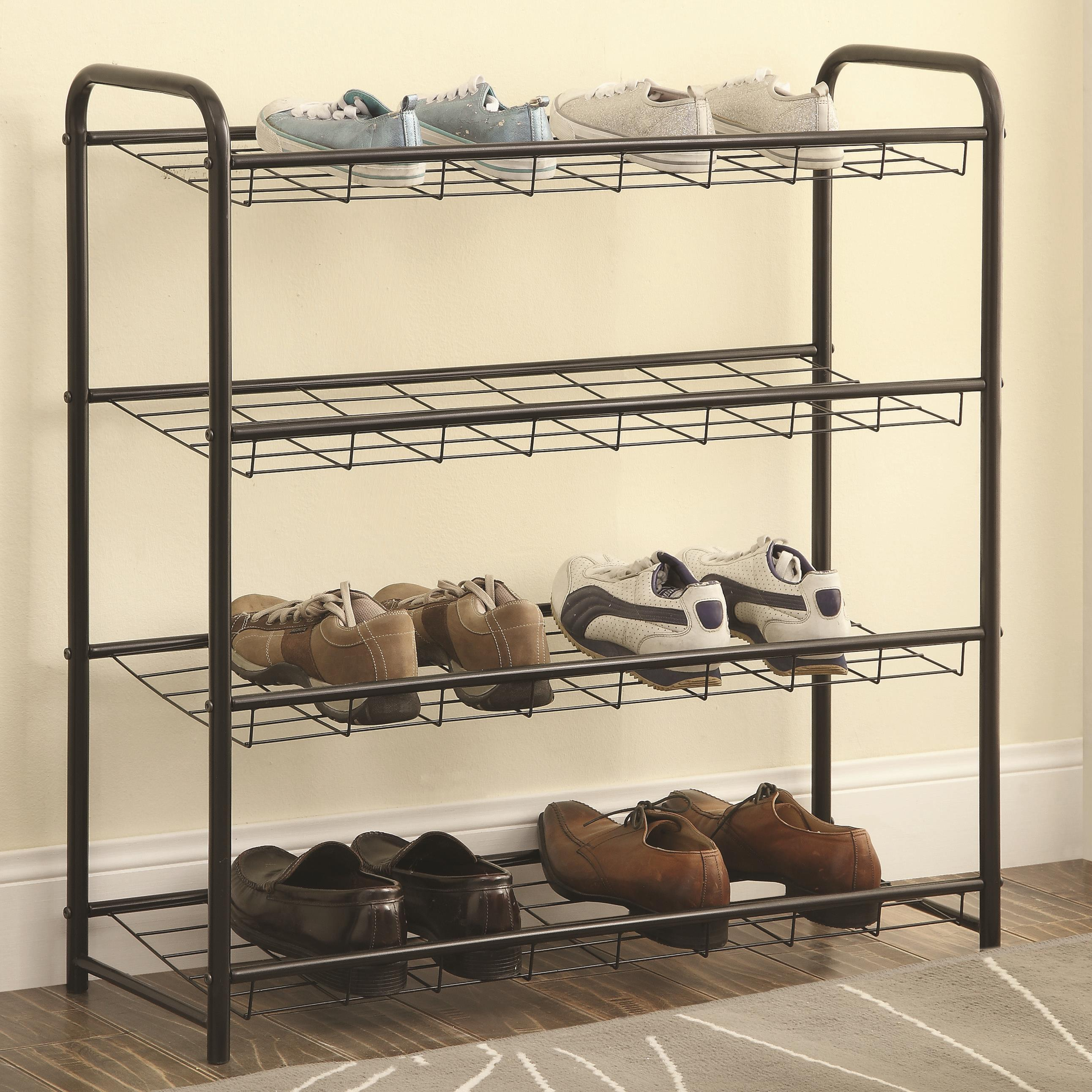 Accent Racks Shoe Rack by Coaster at A1 Furniture & Mattress