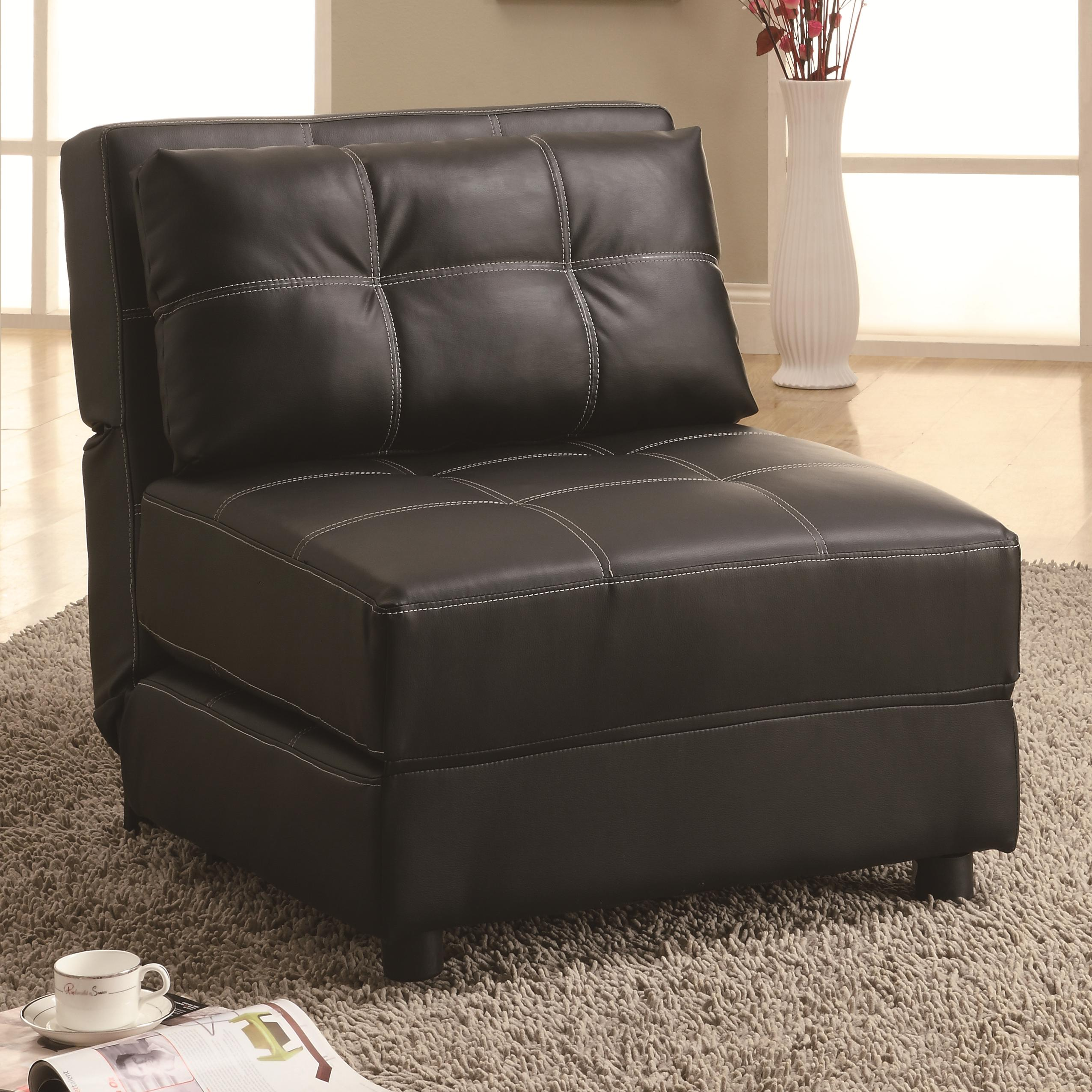 Accent Seating Lounge Chair/Sofa Bed by Coaster at Lapeer Furniture & Mattress Center