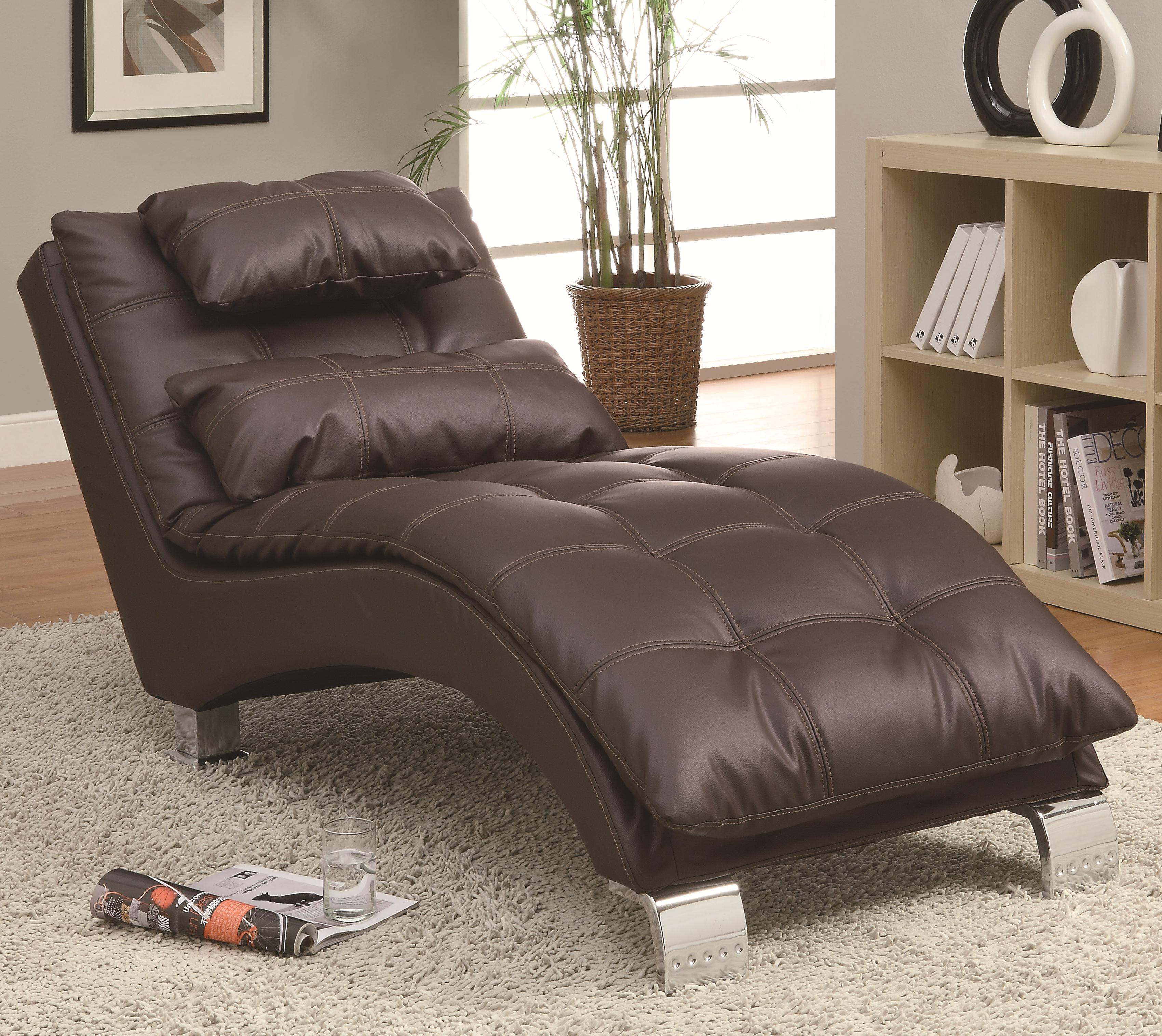 Accent Seating Chaise by Coaster at Northeast Factory Direct