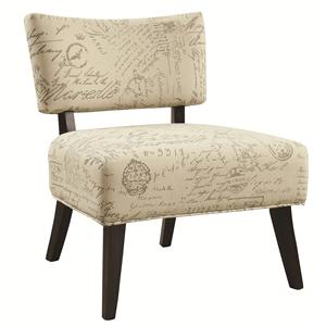 Coaster Accent Seating Casual And Contemporary Living Room
