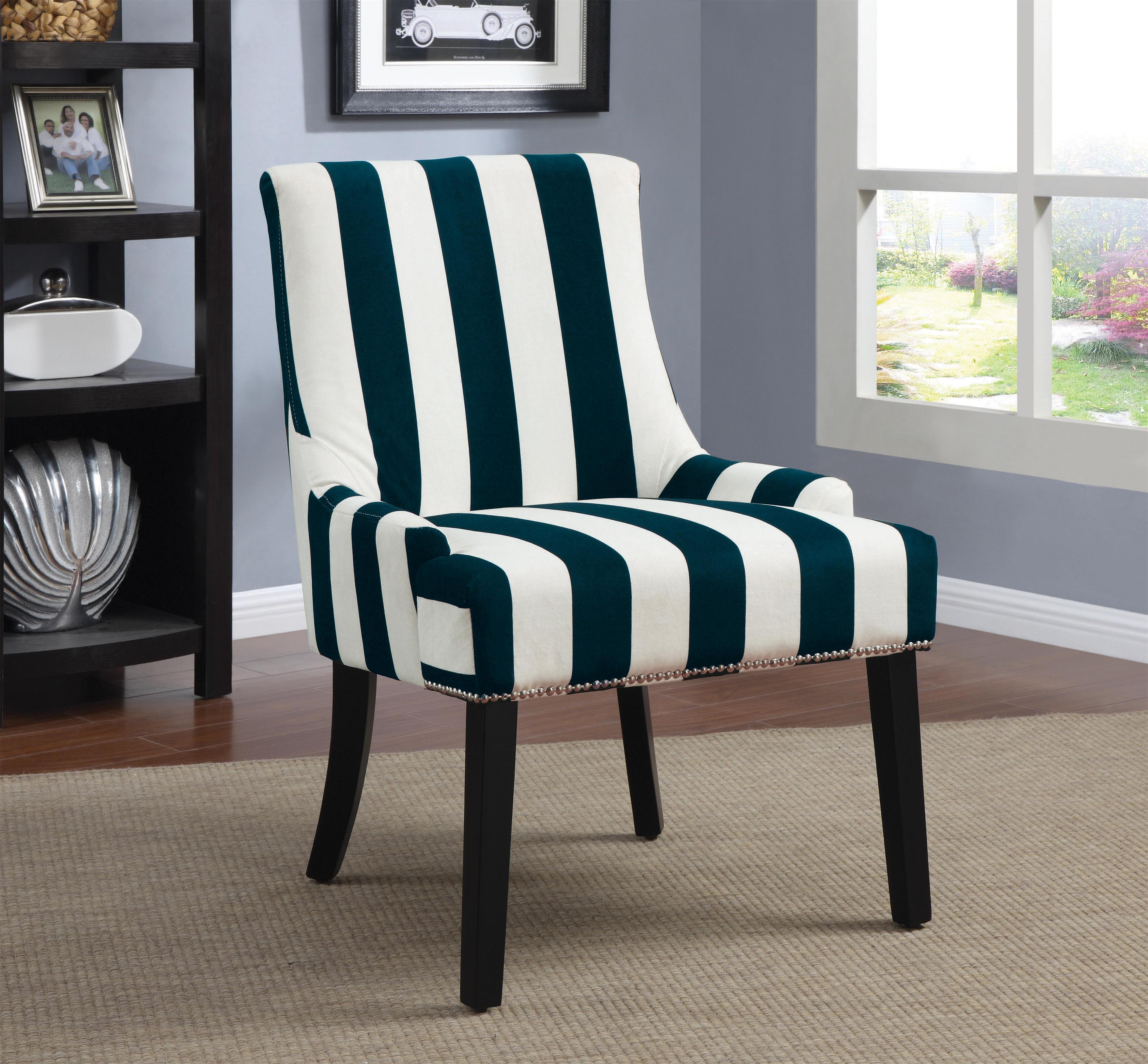 Accent Seating Armless Upholstered Chair  by Coaster at Lapeer Furniture & Mattress Center