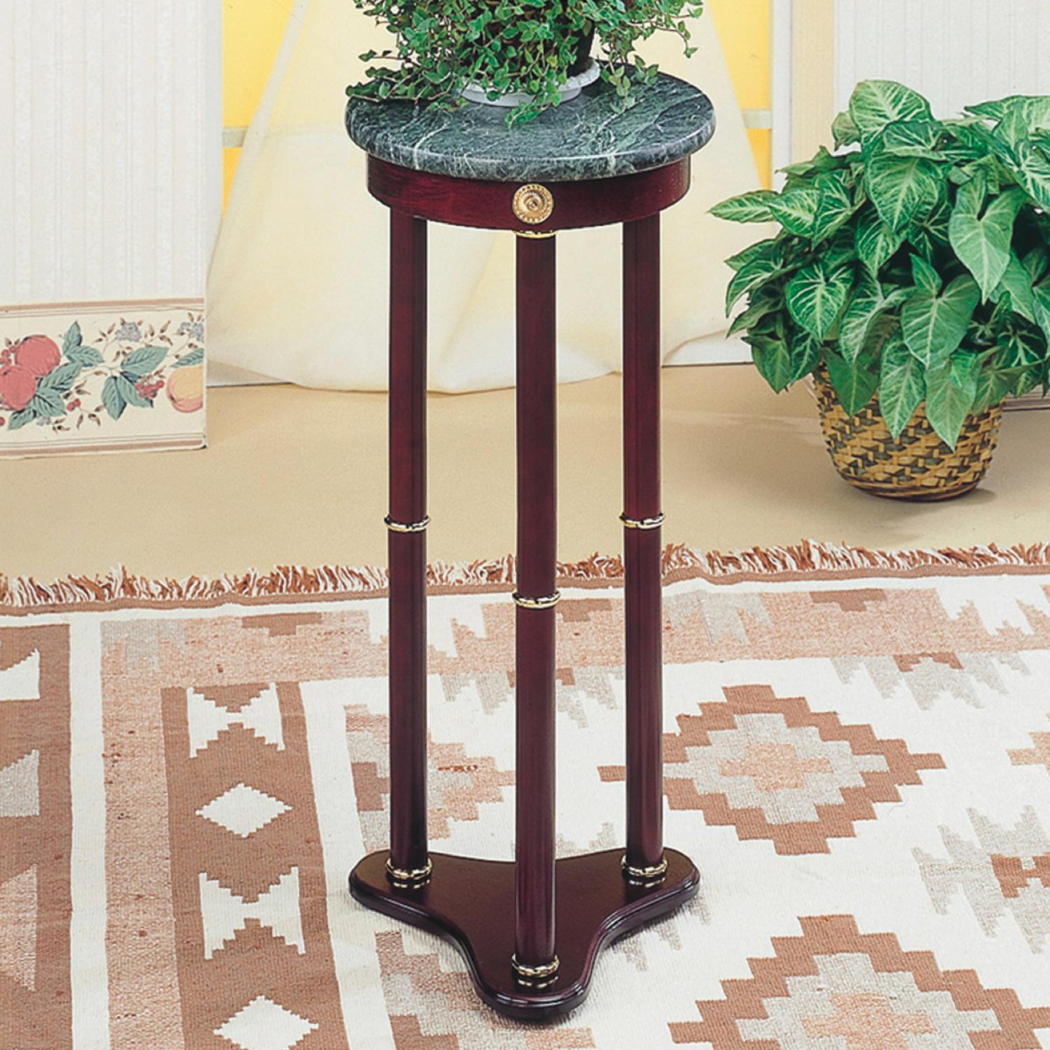 Accent Stands Round Plant Stand by Coaster at Rife's Home Furniture