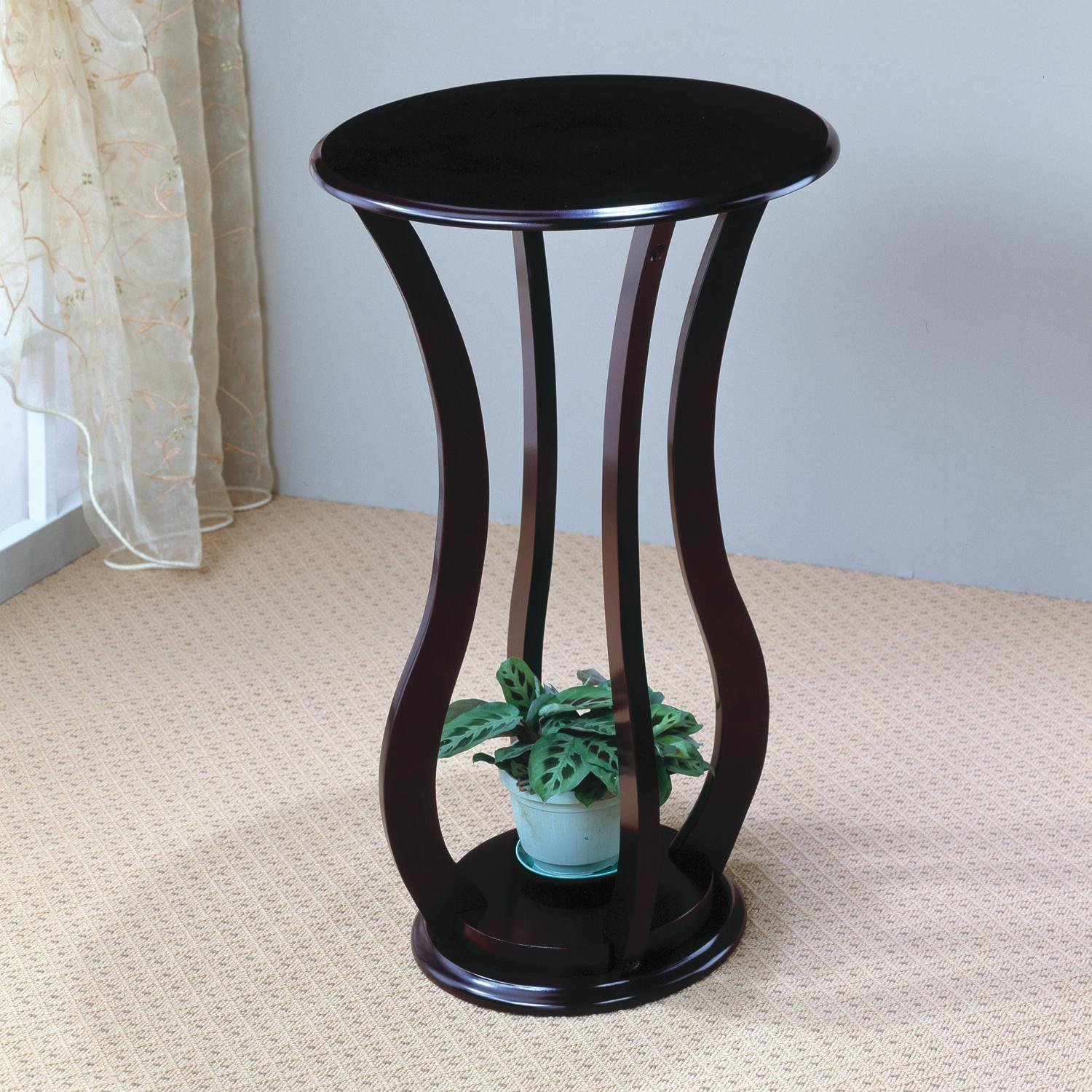 Accent Stands Round Plant Stand by Coaster at Lapeer Furniture & Mattress Center