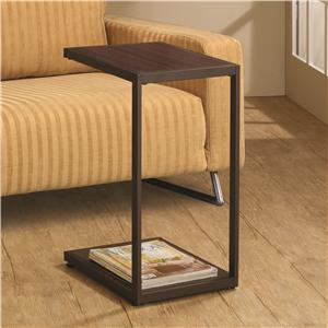 Coaster Accent Tables Dark Brown Snack Table