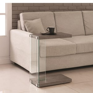 Sleek Accent Table