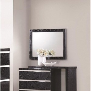 Coaster Alessandro Mirror with Wood Frame