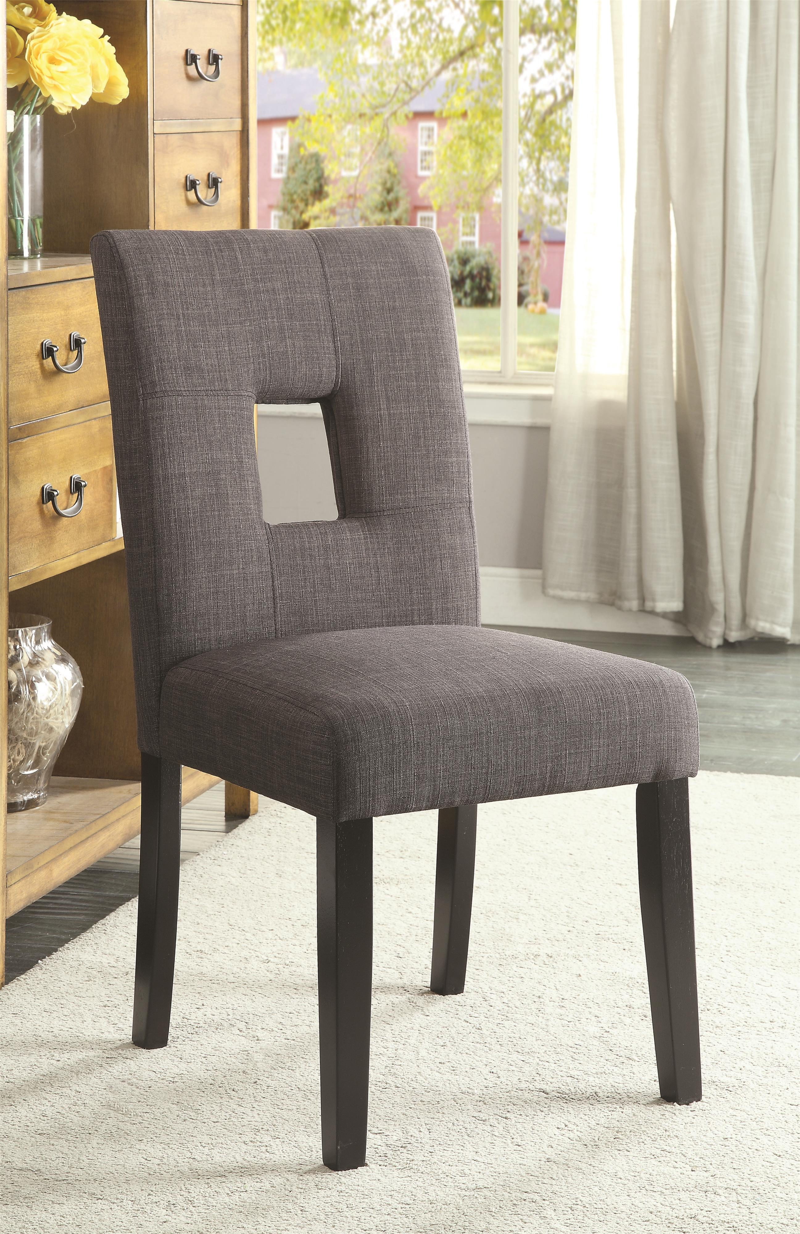 Andenne Dining Side Chair by Coaster at Lapeer Furniture & Mattress Center