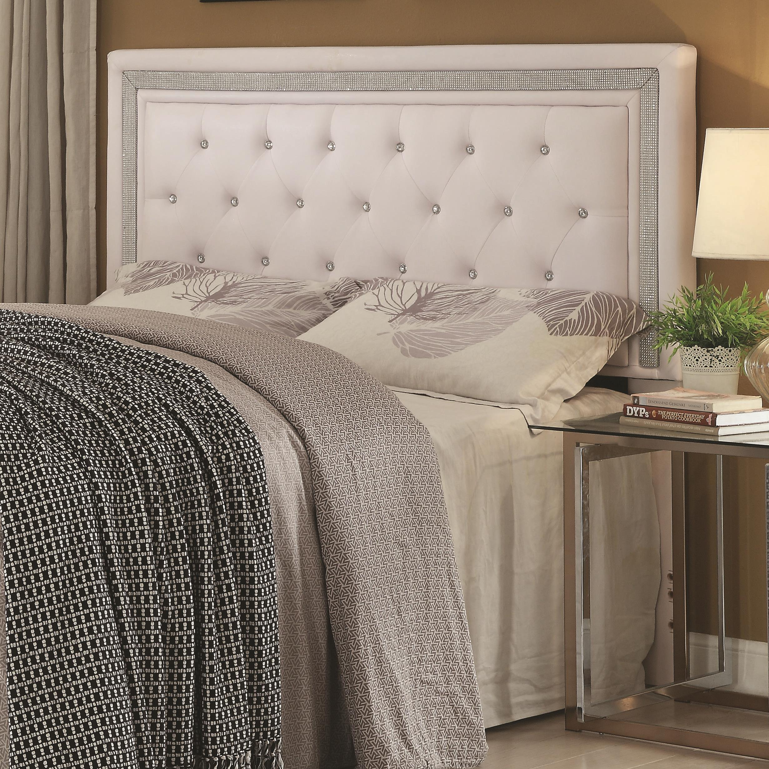 Andenne Bedroom Queen/Full Headboard by Coaster at Lapeer Furniture & Mattress Center