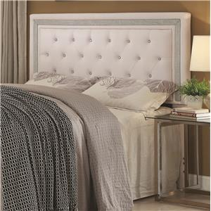 Glamorous Contemporary Queen/Full Headboard