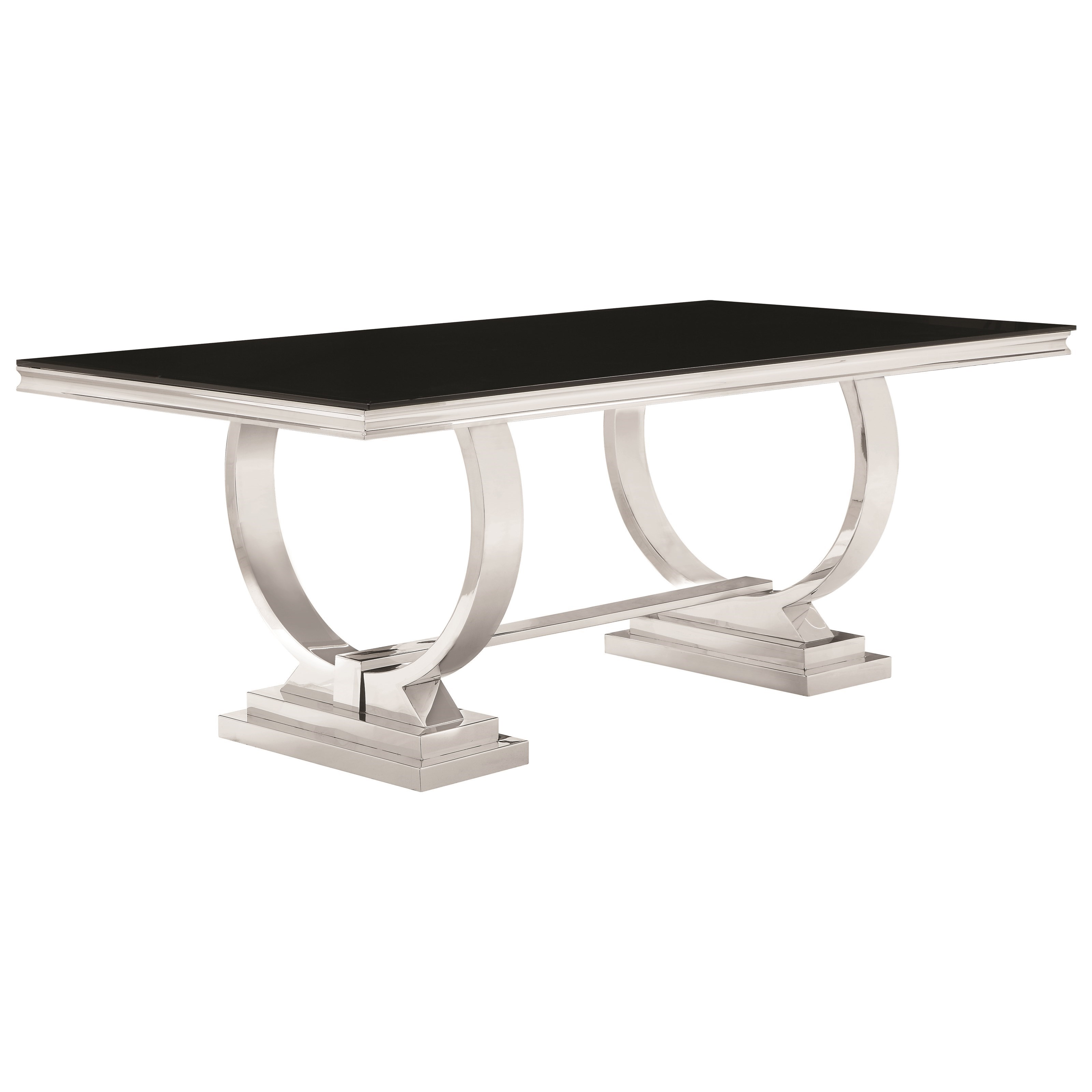 Antoine Dining Table by Coaster at Beds N Stuff