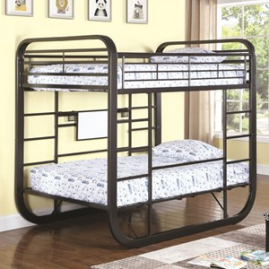 Full Workstation Bunk Bed