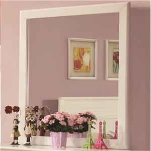 Mirror with Transitional Design