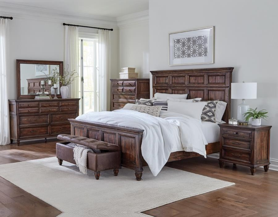 Avenue King Bedroom Group by Coaster at Beck's Furniture