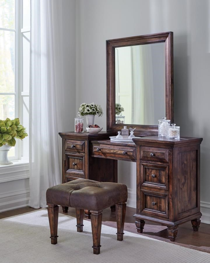 Avenue 5-Piece Vanity Set by Coaster at Beck's Furniture