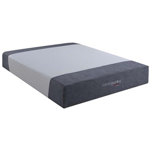 "12"" California King Gel Pocket Coil Mattress"