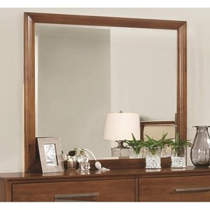 Dresser Mirror with Beveled Edge