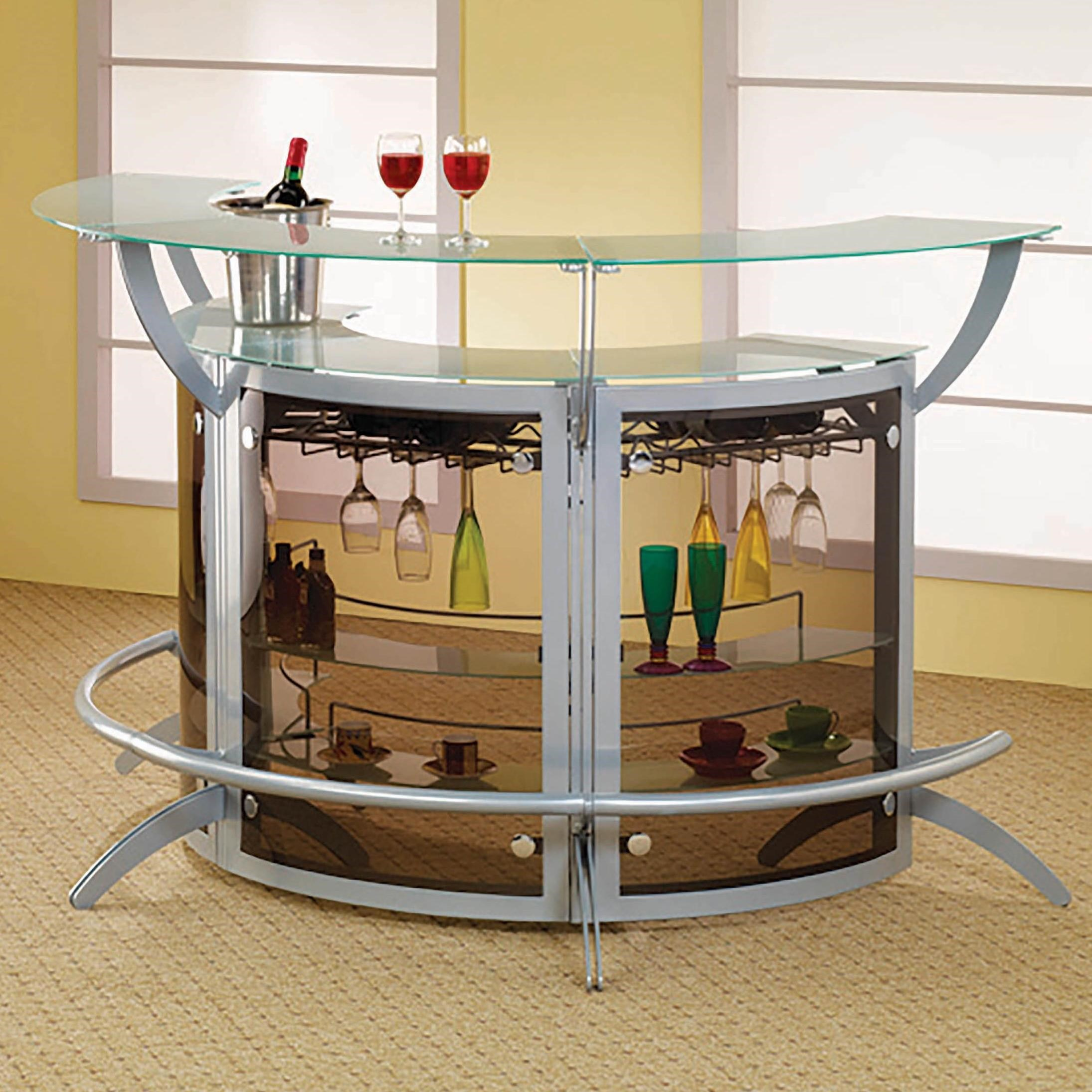 Bar Units and Bar Tables Bar Unit, Set of 3 by Coaster at Lapeer Furniture & Mattress Center
