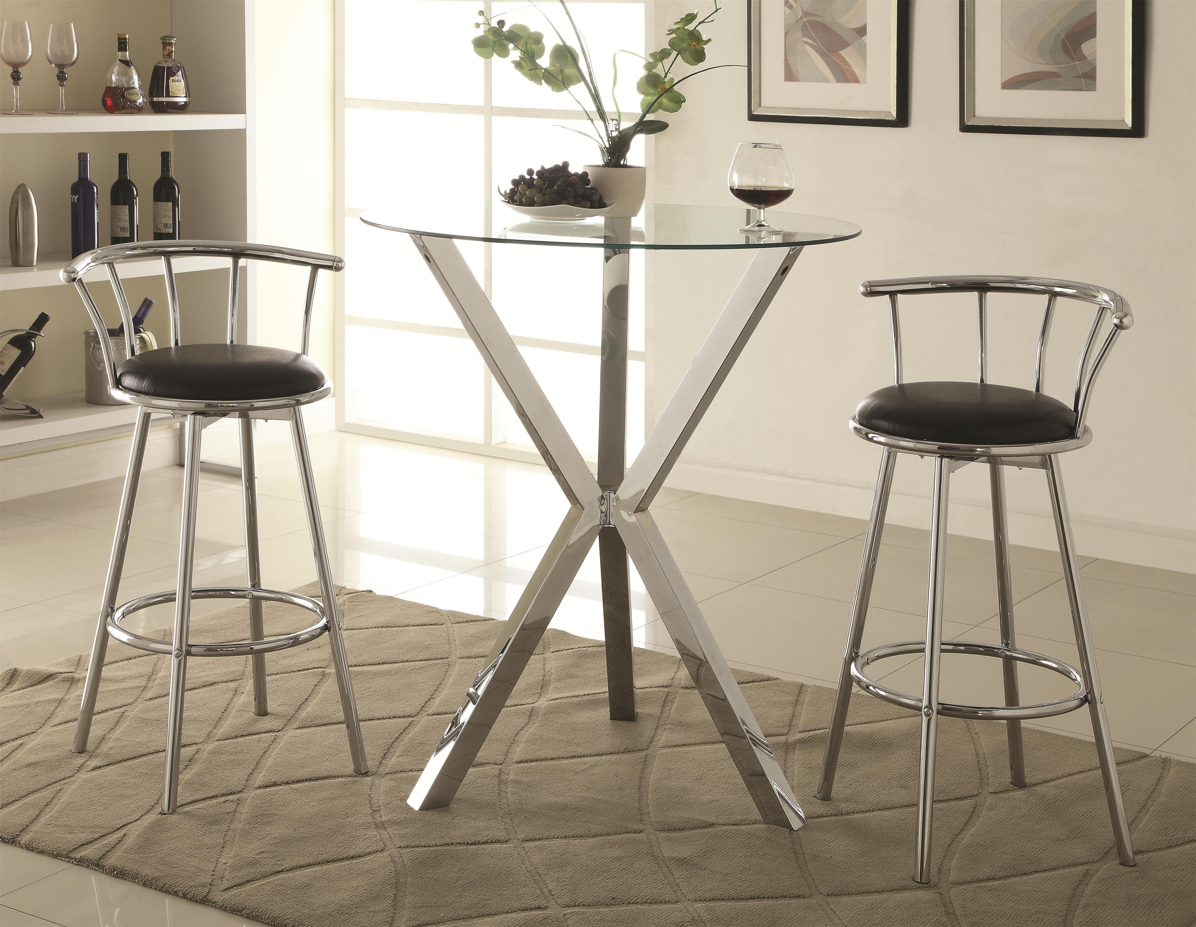 Bar Units and Bar Tables Pub Table Set by Coaster at Northeast Factory Direct