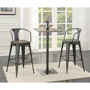 Coaster Bar Units and Bar Tables Bar Table and Stool Set