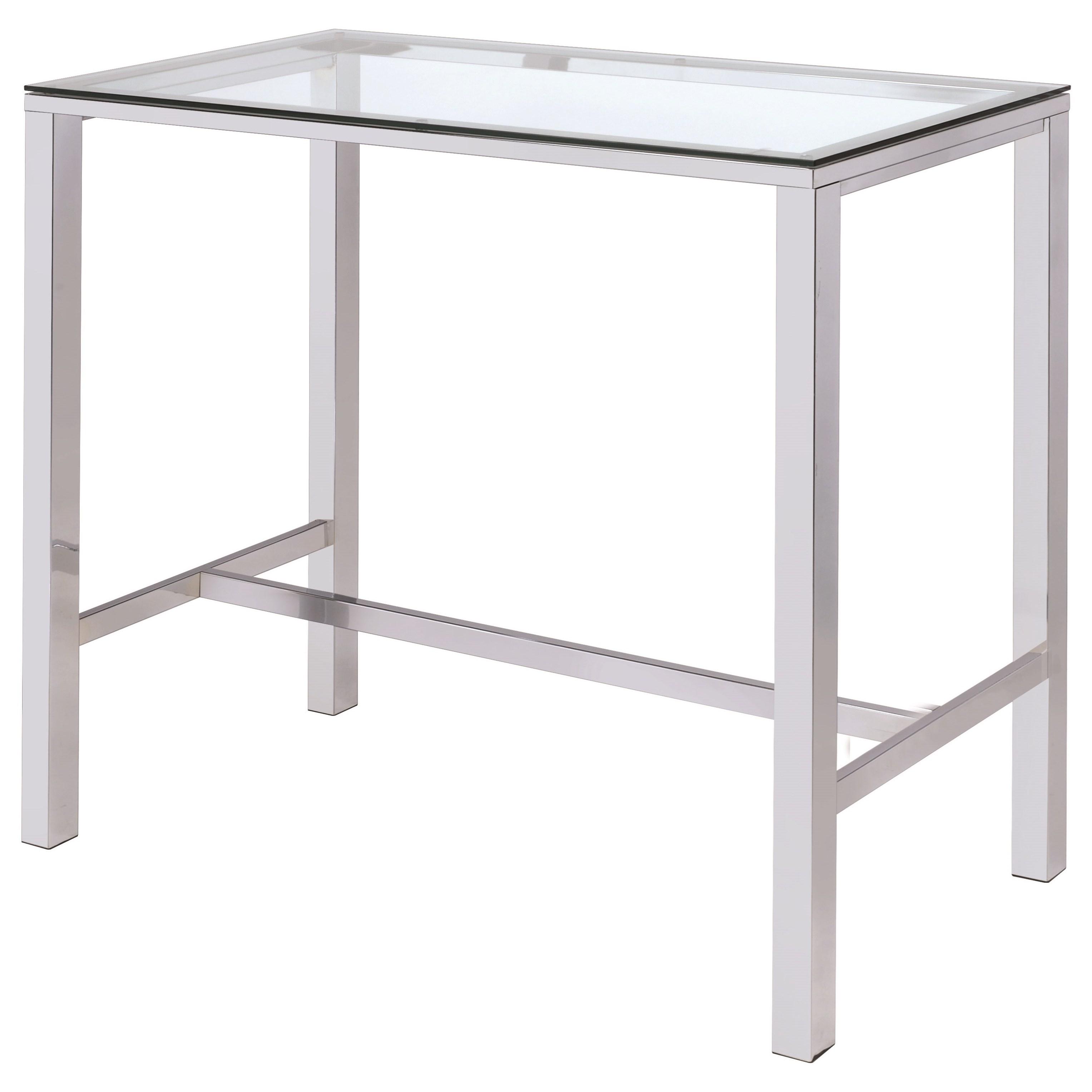 Bar Units and Bar Tables Bar Table by Coaster at Lapeer Furniture & Mattress Center