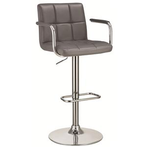 Bar Stool with Adjustable Seat and Foot Rest
