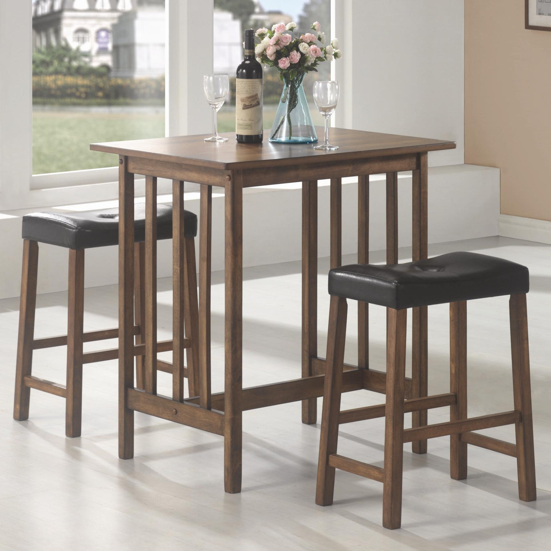 Bar Units and Bar Tables 3PC Set by Coaster at Rife's Home Furniture