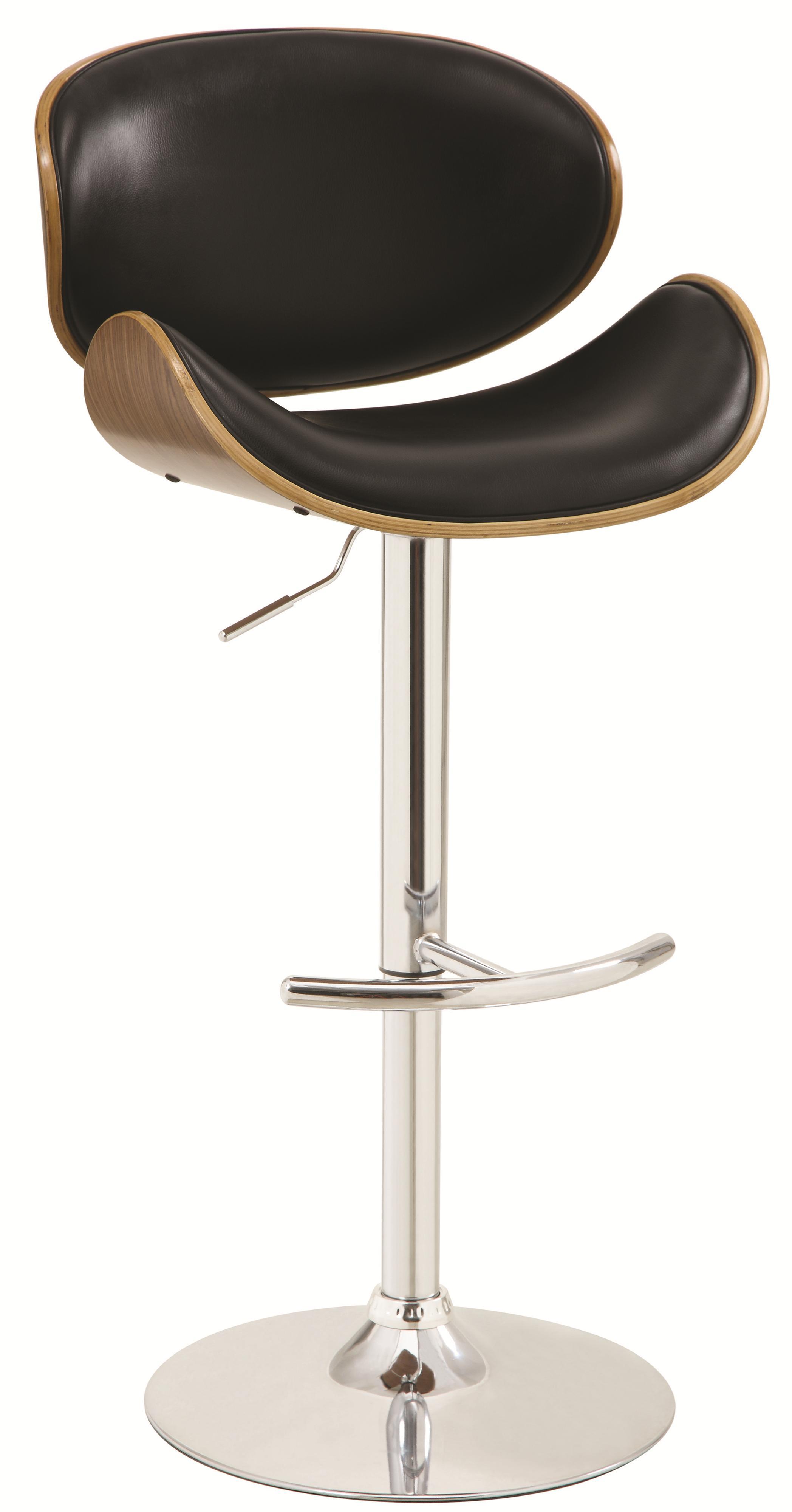 Bar Units and Bar Tables Adjustable Bar Stool by Coaster at Northeast Factory Direct