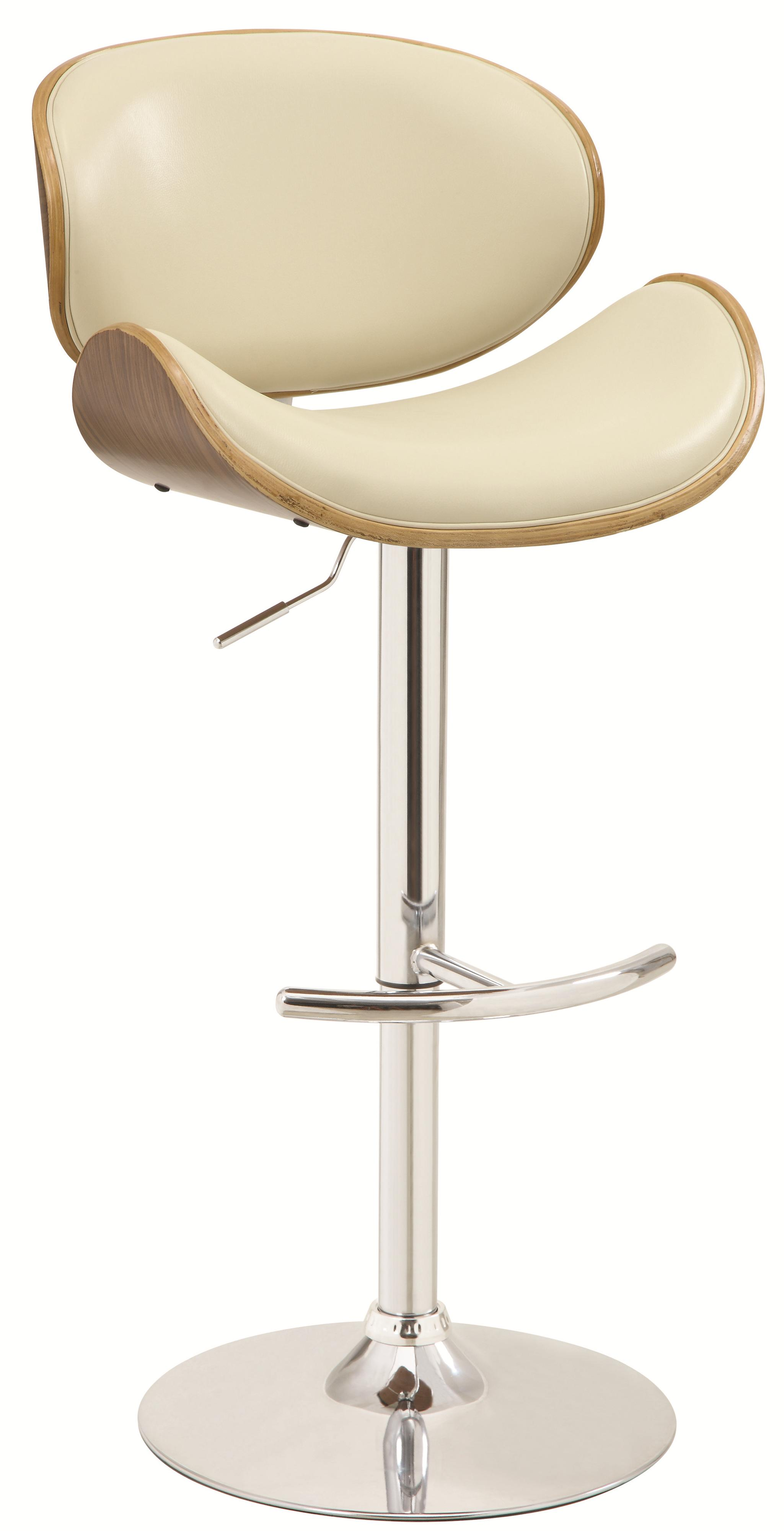 Bar Units and Bar Tables Adjustable Bar Stool by Coaster at Northeast Factory Direct