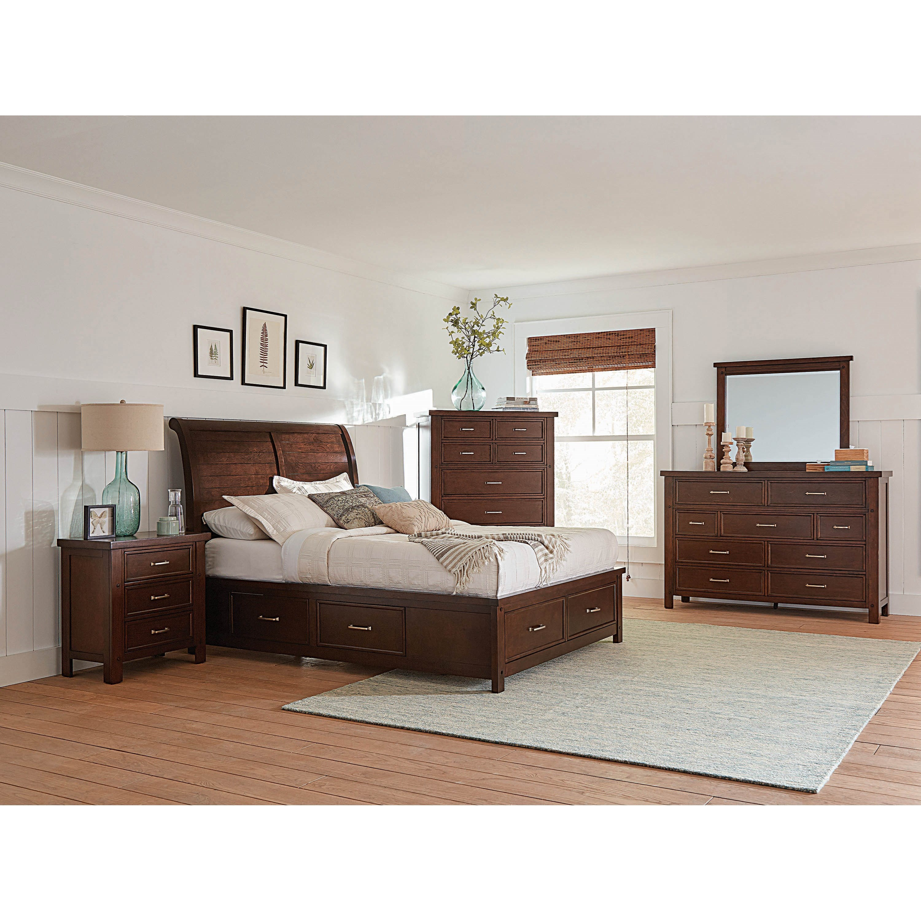 Barstow Queen Bedroom Group by Coaster at Beds N Stuff