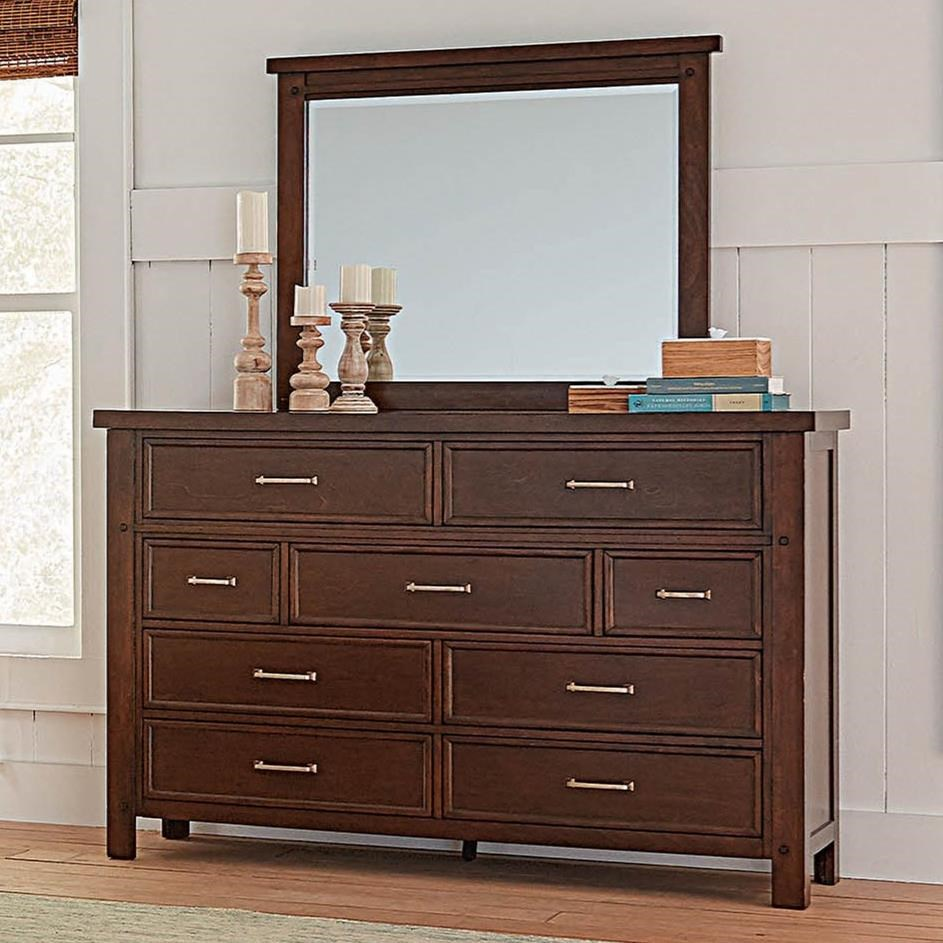 Barstow Dresser and Mirror Set by Coaster at Northeast Factory Direct