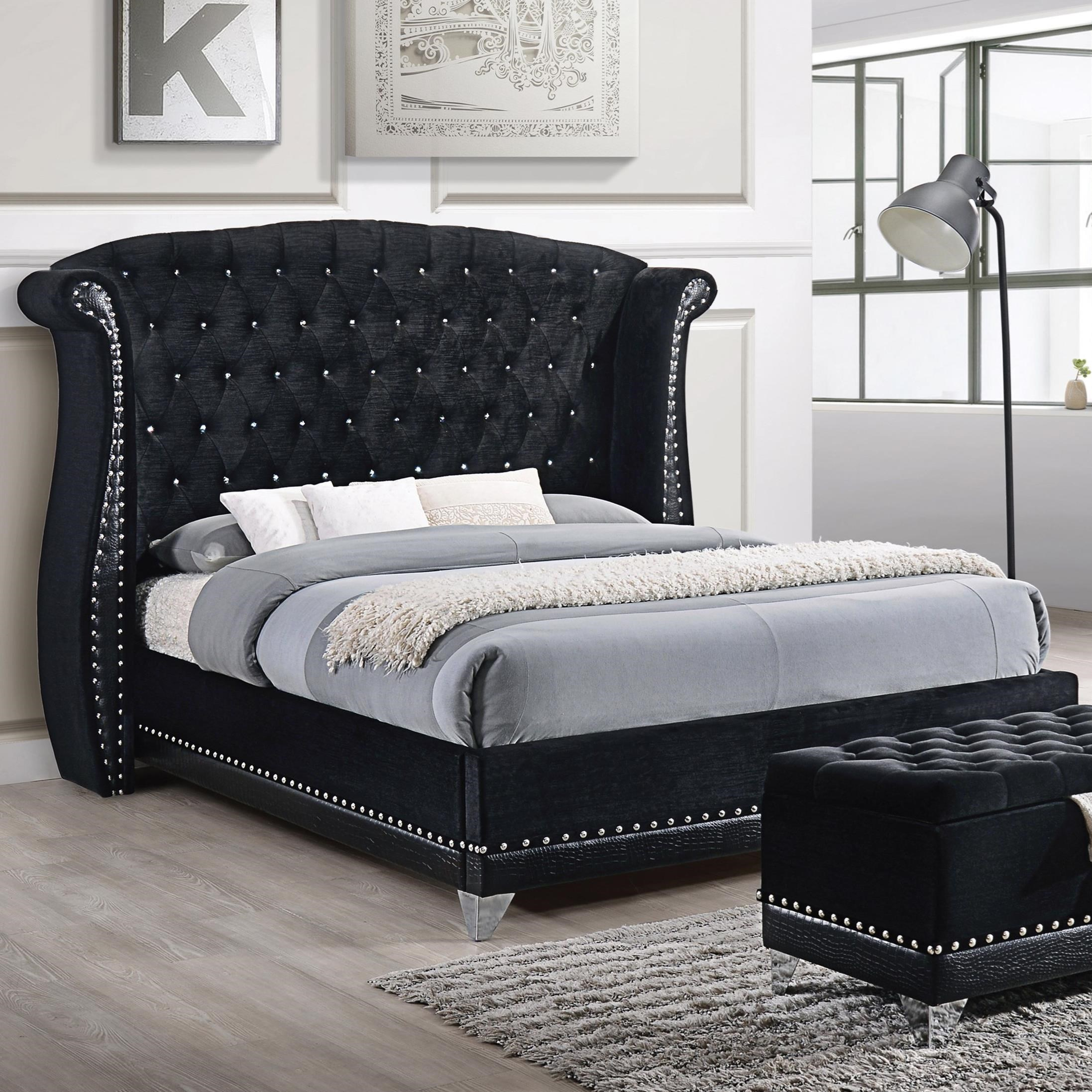 Barzini California King Bed by Coaster at Rife's Home Furniture