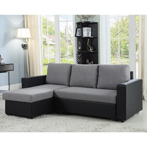 Sectional Sofa with Chaise and Sleeper