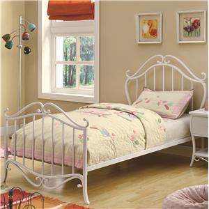 Coaster Bella Twin Bed