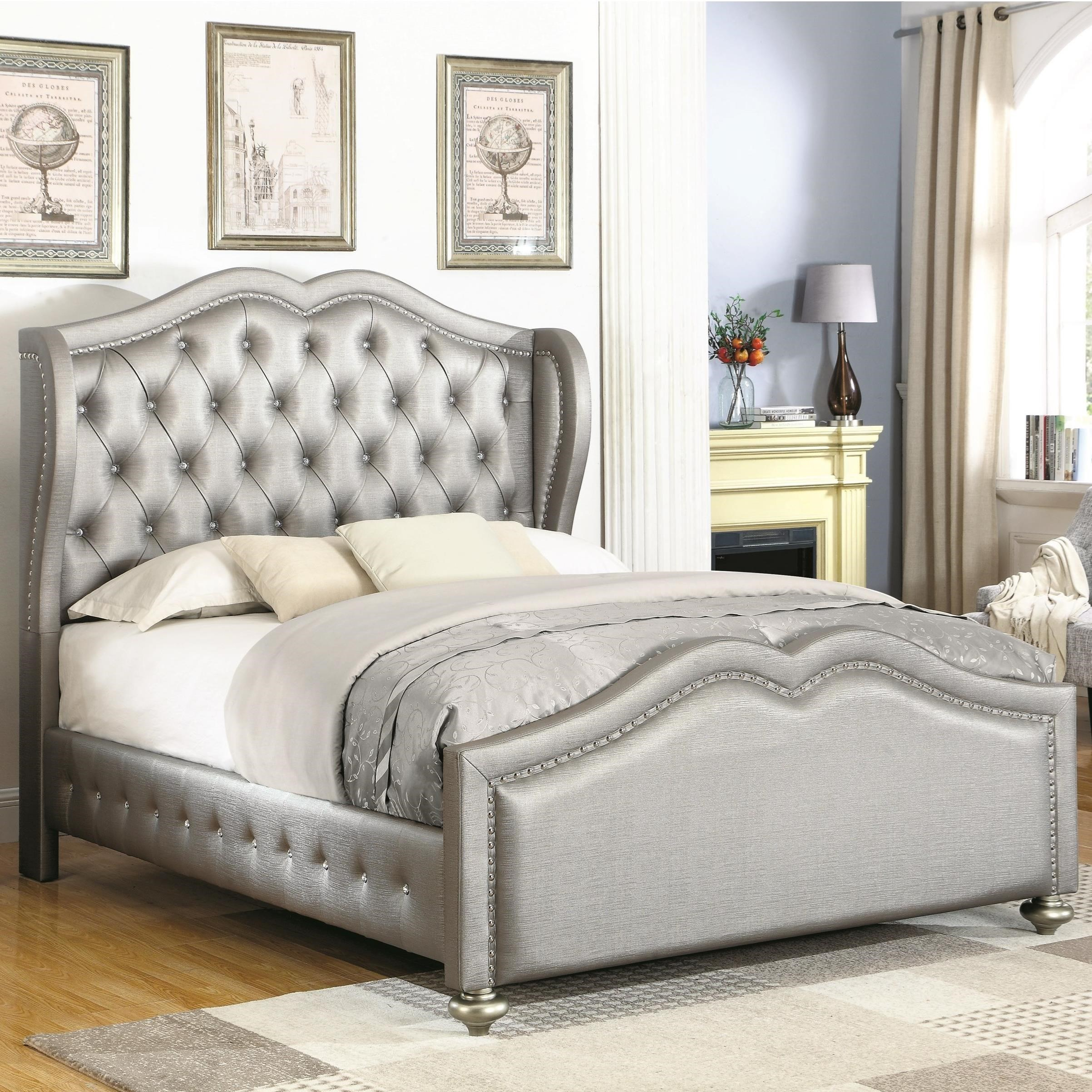Belmont Eastern King Bed by Coaster at Northeast Factory Direct