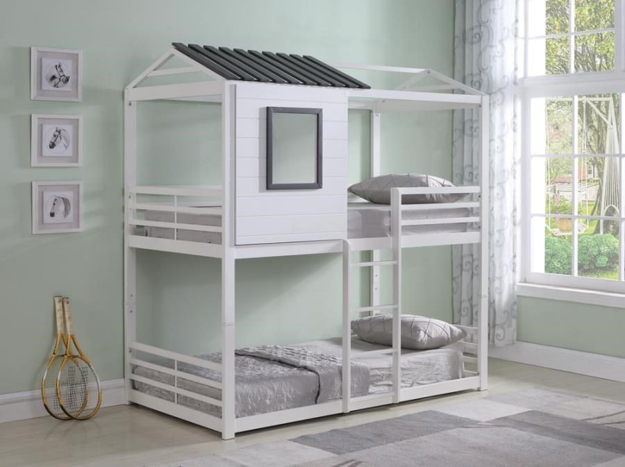 Belton Twin/Twin Bunk Bed by Coaster at Beck's Furniture